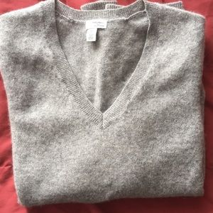 NWOT Halogen cashmere sweater